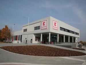 Kaufland v Olomouci vyrostl v rekordním čase. Má být vzorem pro další prodejny
