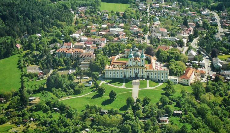 Olomouc a okolí z ptačí perspektivy
