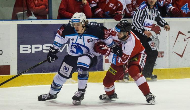 Olomouc ve třetím čtvrtfinále play-off nestačila na Plzeň a prohrála 3:4
