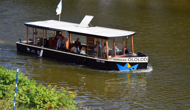 Ololoď Kordulka bude dělat radost v Přerově, vyplula na řeku Bečvu