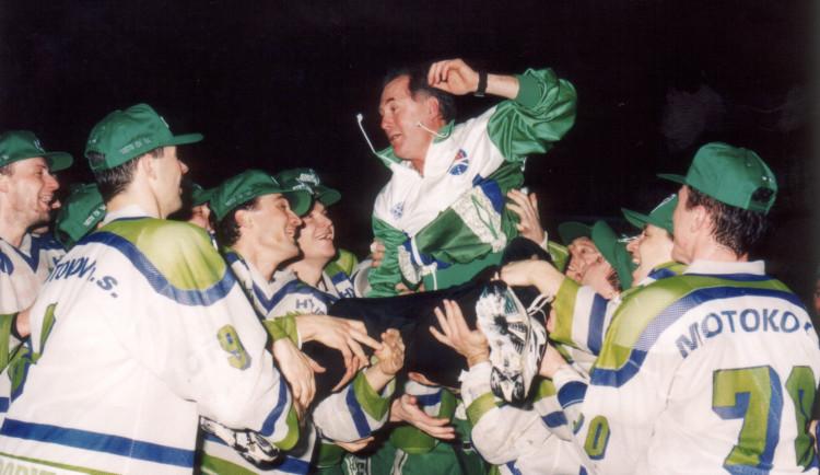 Mistři z roku 1994 v Olomoucis fanoušky oslavíčtvrtstoletí od zisku titulu