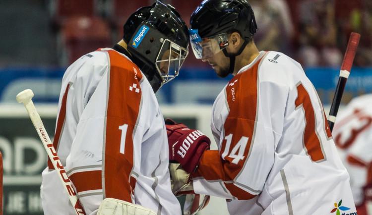 FOTOGALERIE: Olomoučtí hokejisté na úvod přípravy prohráli s kazašským Kokšetau 2:3 po nájezdech