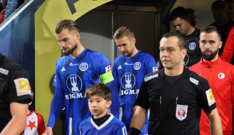 FOTOGALERIE: Sigma remizovala doma se Slavií 0:0, ta ztratila body poprvé po osmi zápasech