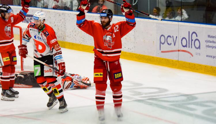FOTOGALERIE: Hanáci poprvé doma vyhráli! Knotek vstřelil dvě branky
